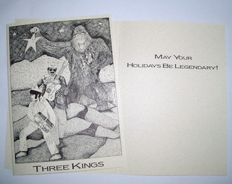 5 x 7 Legendary Kings Boxed Holiday cards