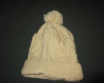 Irish Cable Knit Hat