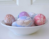 Fabulous Collection of Silk For Dyed Easter Eggs - 978