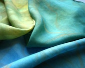 Gold Sea Silk Scarf
