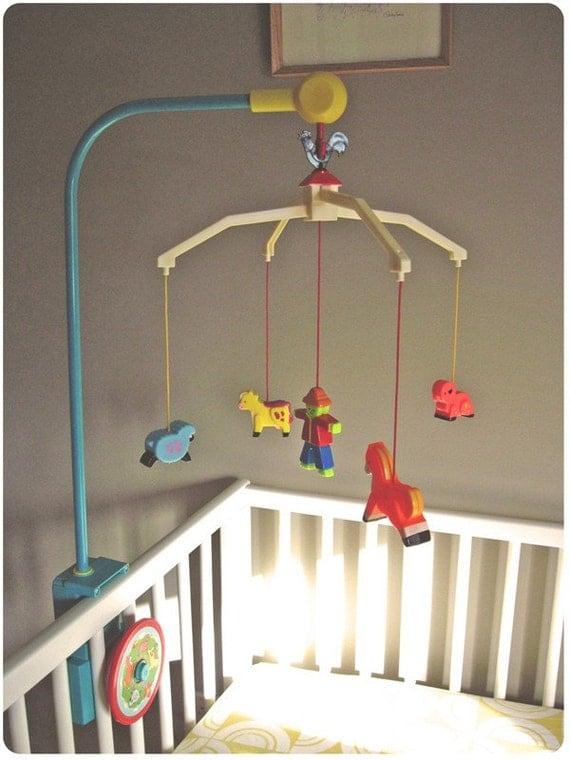 Boy Nursery Crib