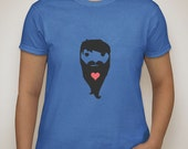 I love Beards t-shirt - 100% cotton, pre-shrunk