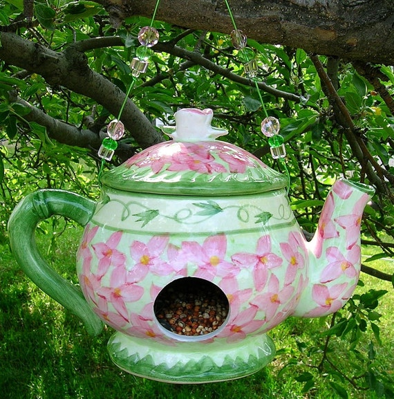 Little Teapot Birdfeeder