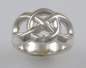 Celtic Collection - Sterling silver ring 05
