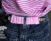Waist Bandit Hold-ups:  Pink Polka Dots