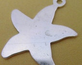 Sterling Silver Starfish Stamping(one pair)