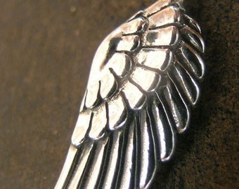 Sterling Silver Angel Wing(one charm)