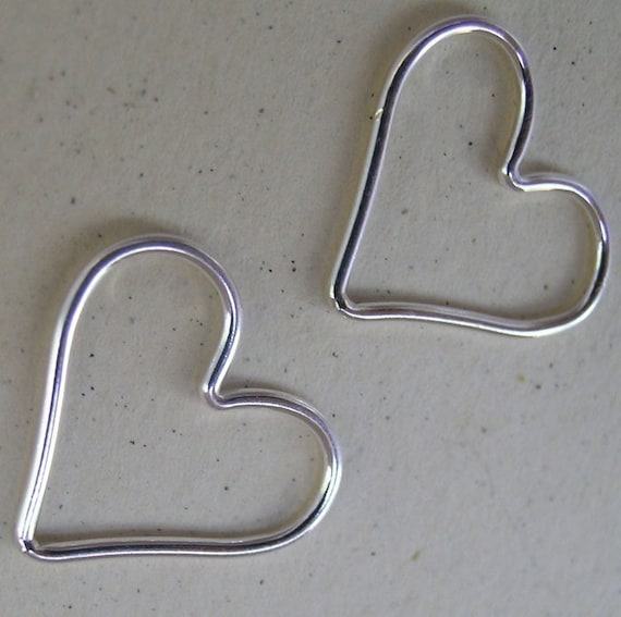 Sterling silver heart frame(You choose the quantity)