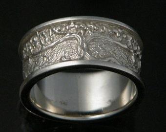 Tree of Life Custom Wedding Ring