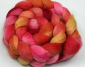 BFL Top Roving - Hand Painted Felting or Spinning Fiber