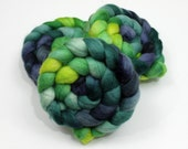 BFL Roving - Hand Painted Wool Roving for Felting or Spinning