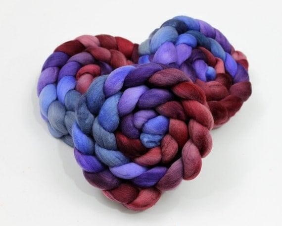 Superfine Merino Wool - Handpainted Roving for Spinning or Felting