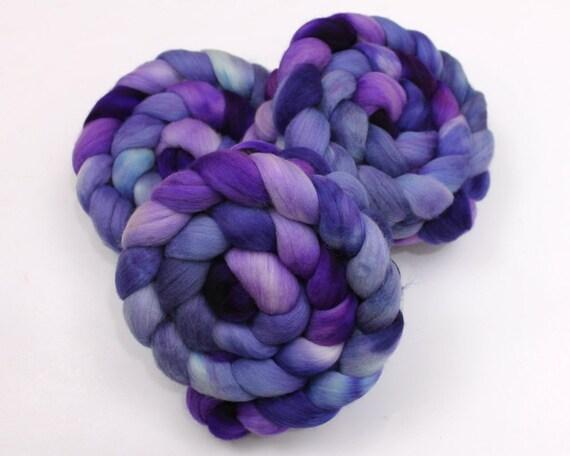 Polwarth Wool Roving - Handpainted Felting or Spinning Fiber