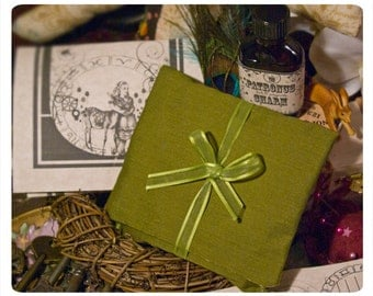 gris gris bag or sachet - comes with pocket, lavish bath salts and 1 oz bottle of artisan made bath oil - you pick the aroma