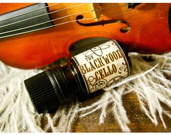 the blackwood cello - natural cologne oil - 1/6 oz