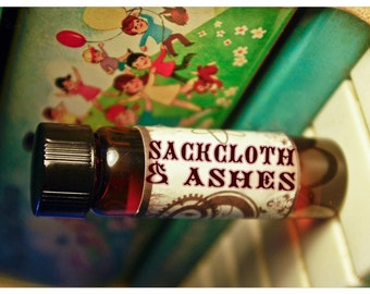 sackcloth and ashes - natural perfume oil - 1/2 oz - unisex