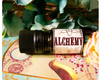 alchemy natural perfume oil of firewoods, lotus and moss - 1/6 oz o victorian wonder meticulously forged to seduce
