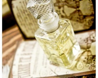 the arnica bottle - natural perfume/cologne oil held captive in victorian style 1/3 oz bottle - over 60 aromas to choose from