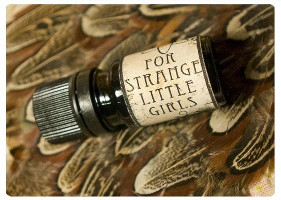 for strange little girls - natural perfume oil - 1/6 oz