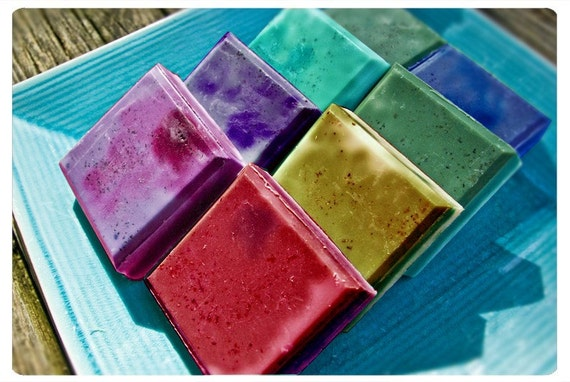 natural botanical soaps - pixxxie pie and posie's soapercalafragalistic bar of joy - over 60 awesome aroma options