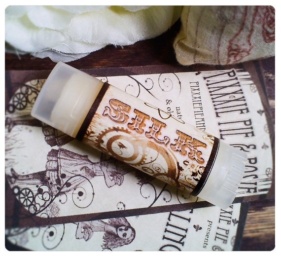 silk - fantabulous fixative and miracle moisturizing balm - housed in nifty frosted dispenser