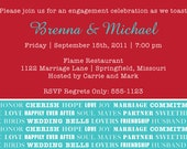 DIY Printable Invitation - Engagement Party, Wedding invitation, Party Invitation, Shower Invitation, Rehearsal Dinner Invitation