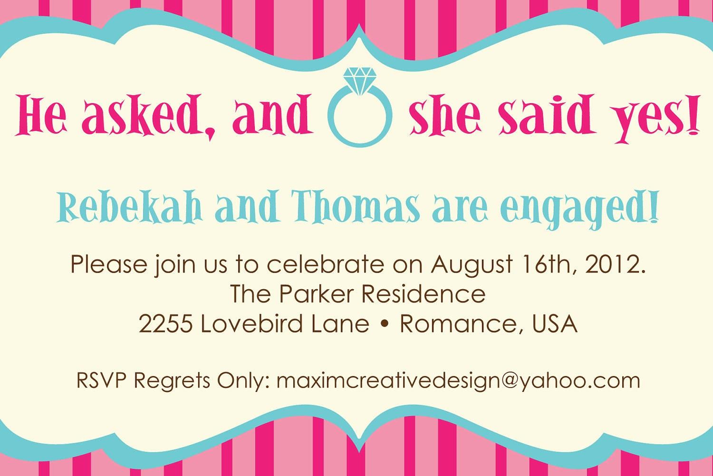 Wedding Celebration Party Invitations Wedding Invitation Dinner – Engagement Invitation Cards Templates