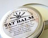 Herbal Salve / Tattoo Balm, Skin Salve / 100 Percent All Natural  Vegan Friendly
