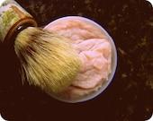 Mens Shaving SOAP / Thick Shaving Cream Soap / For Him Stocking Stuffer Men's Fathers Day Gift