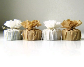Bridal Shower Favor Soaps Round /  Qty 50