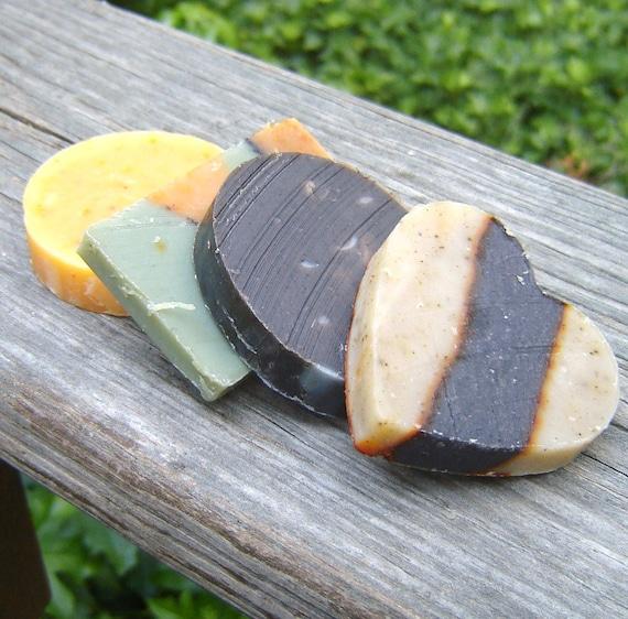 Scented Soap Sampler / Spring Etsy Sale / Cold Process Soap Sample Size