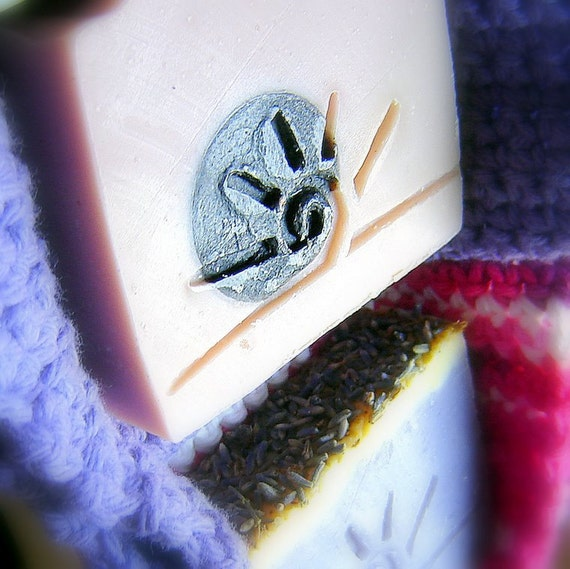 Two SOAPs AND Cotton crochet Cloths -gift wrap you choose soap scents.  Handmade collaboration