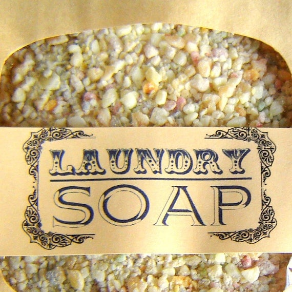 Laundry Soap SAMPLE SIZE - ecofriendly laundry detergent - natural soaps