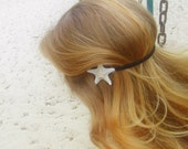 White starfish headband