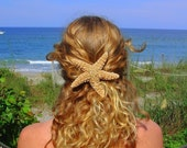 The Original 4in Sugar starfish barrette