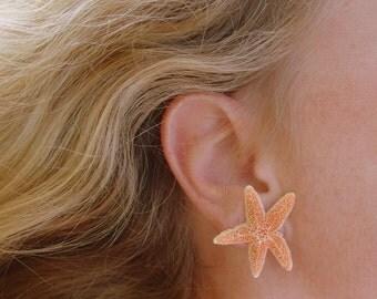 sugar starfish earrings