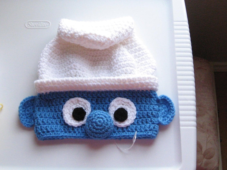 crochet smurfette hat pattern @ Seafood bake coconut milk ... - photo#45