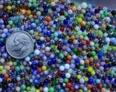 500 Miniature Glass Marbles by J. R. Hooper