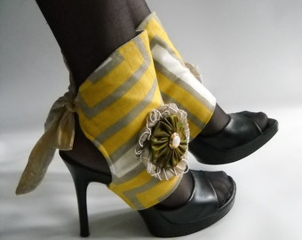 Spats-by J Souza - Yellow spats  ref 70s5-