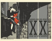 The XX - Sasquatch Music Festival - Gig Poster
