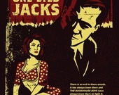 Twin Peaks Tribute Screen Printed Poster