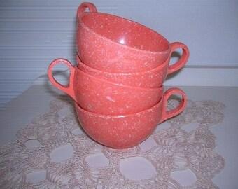 Melon and Cream Confetti Cups