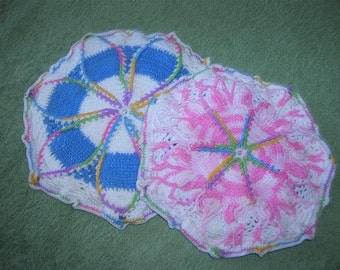 Hand Crocheted Hot Pads