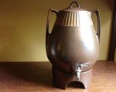 Ben Seibel for Forum International large coffee warmer Samovar.  Retro designer serving...