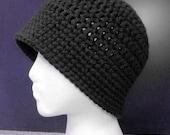 Cloche Hat - Black