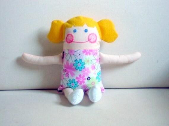 Jessica - All Fabric Doll