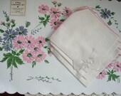 Vintage Place Mat Napkin Set