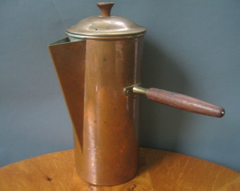 Vintage Coffee Pot Copper Portugal