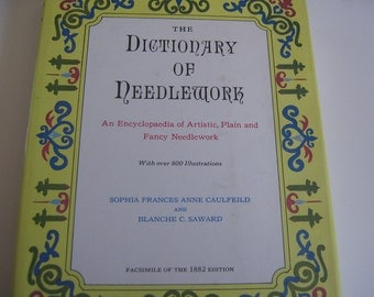 Vintage Book Dictionary of Needlework