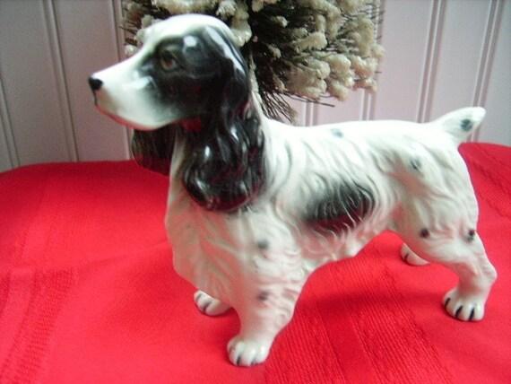Vintage Figurine Spaniel Dog